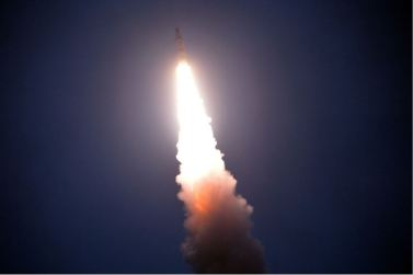 160825 - 조선의 오늘 - KIM JONG UN - Marschall KIM JONG UN leitete das Unterwassertestschießen der ballistischen Rakete vom strategischen U-Boot - 12 - 주체조선의 핵공격능력의 일대 과시 경애하는 김정은동지의 지도밑에 전략잠수함 탄도탄수중시험발사가 성공적으로 진행되였다