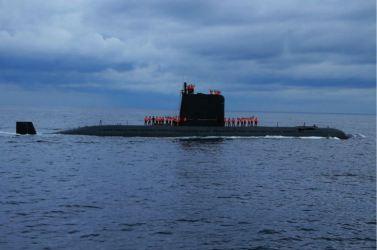 160825 - 조선의 오늘 - KIM JONG UN - Marschall KIM JONG UN leitete das Unterwassertestschießen der ballistischen Rakete vom strategischen U-Boot - 14 - 주체조선의 핵공격능력의 일대 과시 경애하는 김정은동지의 지도밑에 전략잠수함 탄도탄수중시험발사가 성공적으로 진행되였다